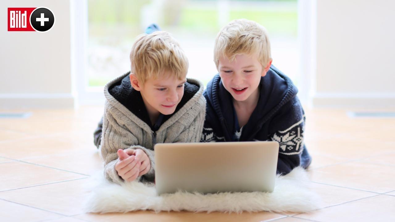 *** BILDplus Inhalt *** TV, Smartphone, Tablet, PC - Wie viel Medienkonsum ist gut für unsere Kinder?