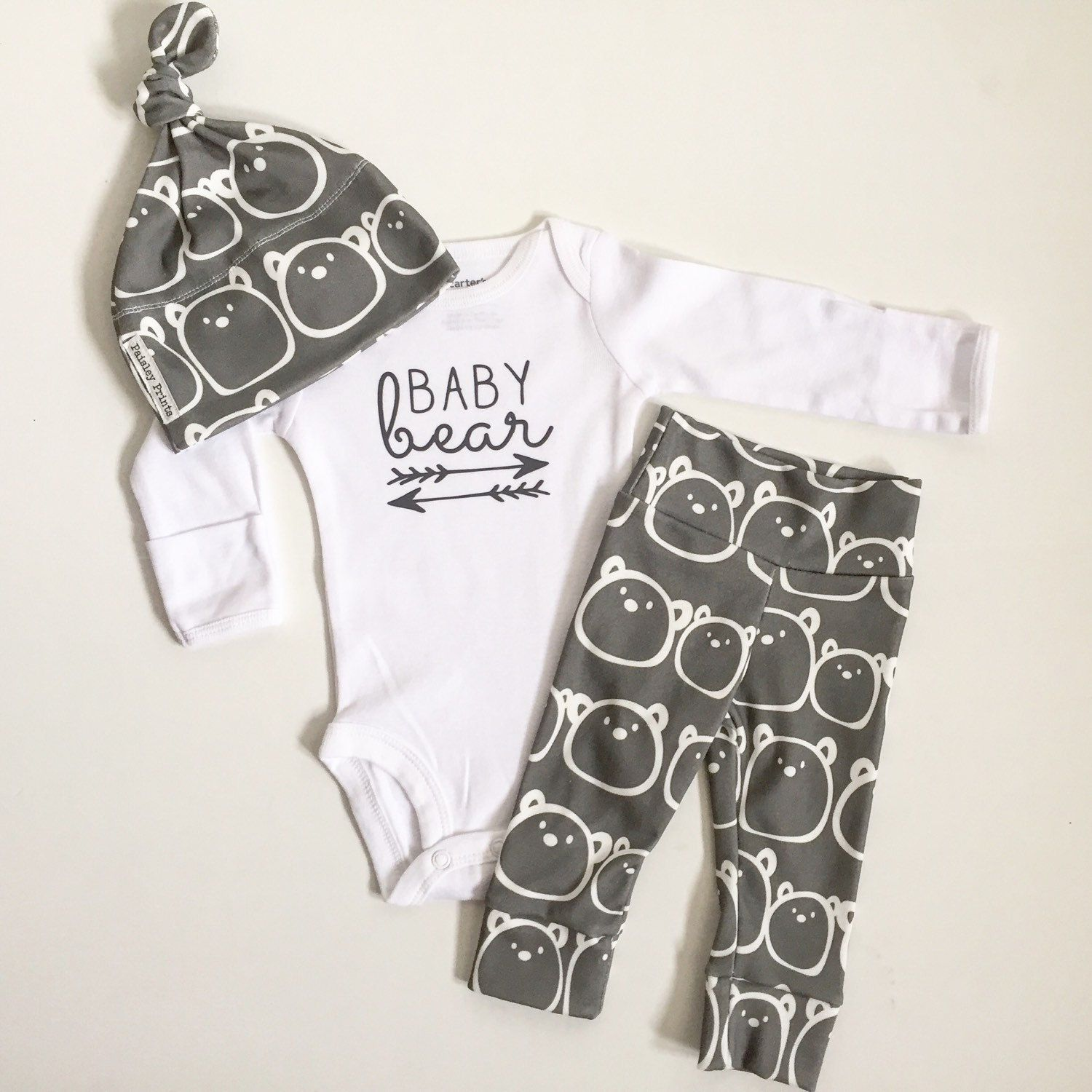 3M SALE Baby Bear baby boy take home outfit