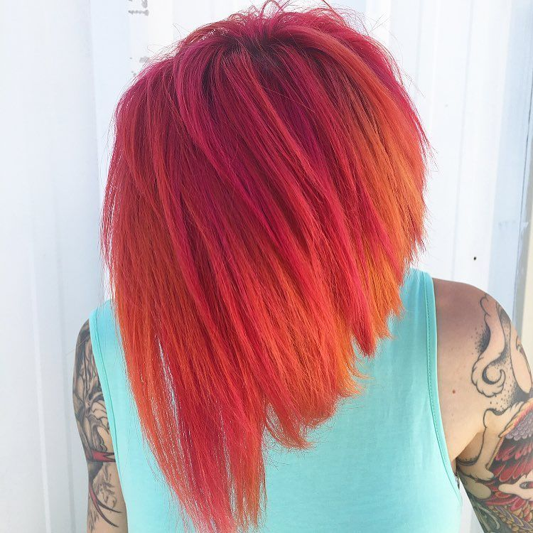 25 glossy orange hair color ideas from bright red orange to burnt 25 glossy orange hair color ideas from bright red orange to burnt orange sisterspd