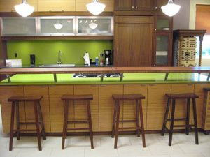 Demonstration Kitchen layout - demonstration kitchen incorporating bar seating. | picnic