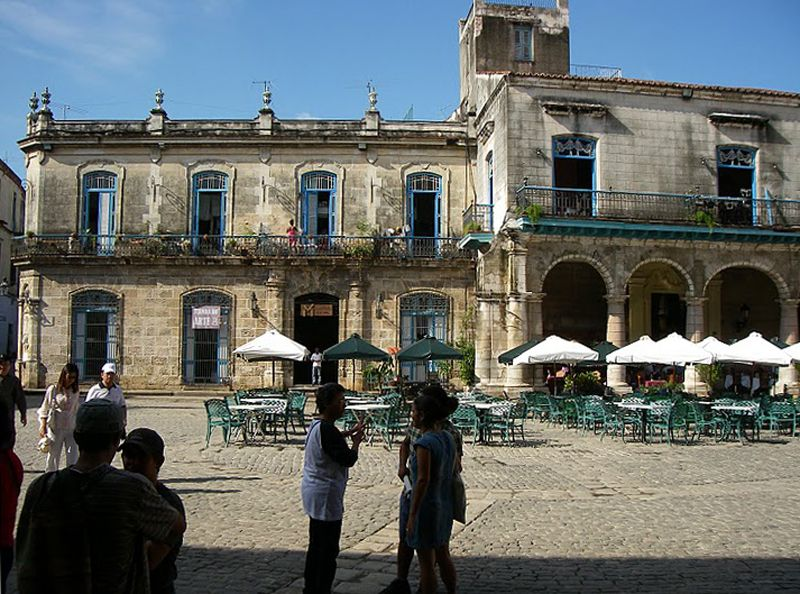 Plaza de La Catédral. La Habana