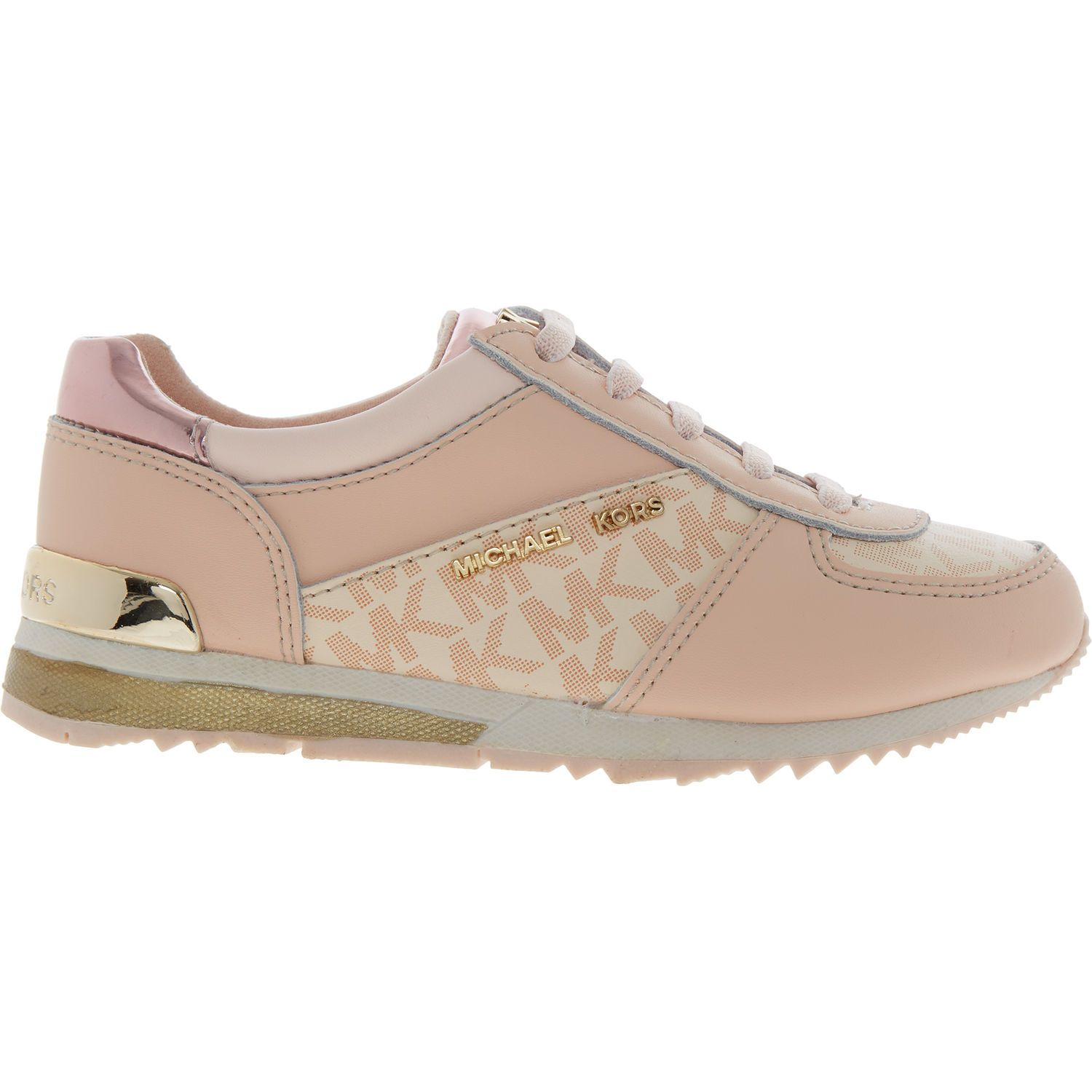 Pink Logo Trainers - Girls' Trainers