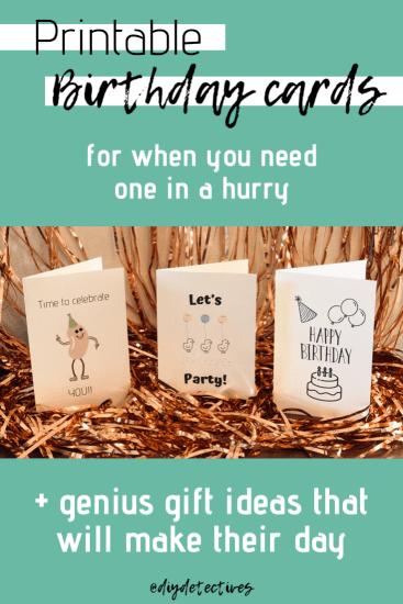 Printable Birthday Cards Genius Gift Ideas Birthday Card Printable Free Printable Birthday Cards Genius Gift