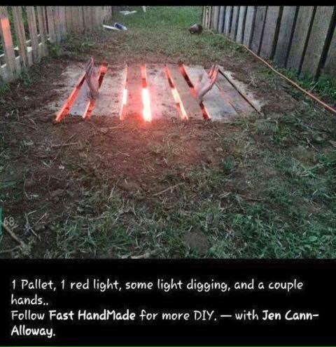 DIY Pallet Zombie Outbreak | Halloween outside, Pallet ...