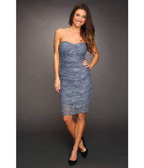 I like this not sure if its the right color blue but with my boobs.... i wouldnt be able to wear strapless but maybe someone else?