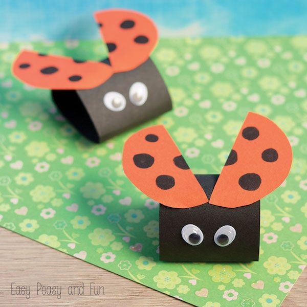 Paper Craft Ideas For Kids Under 5 Part - 19: Manualidades Con Cartulina, 5 Animales Divertidos. Summer CraftsKids ...
