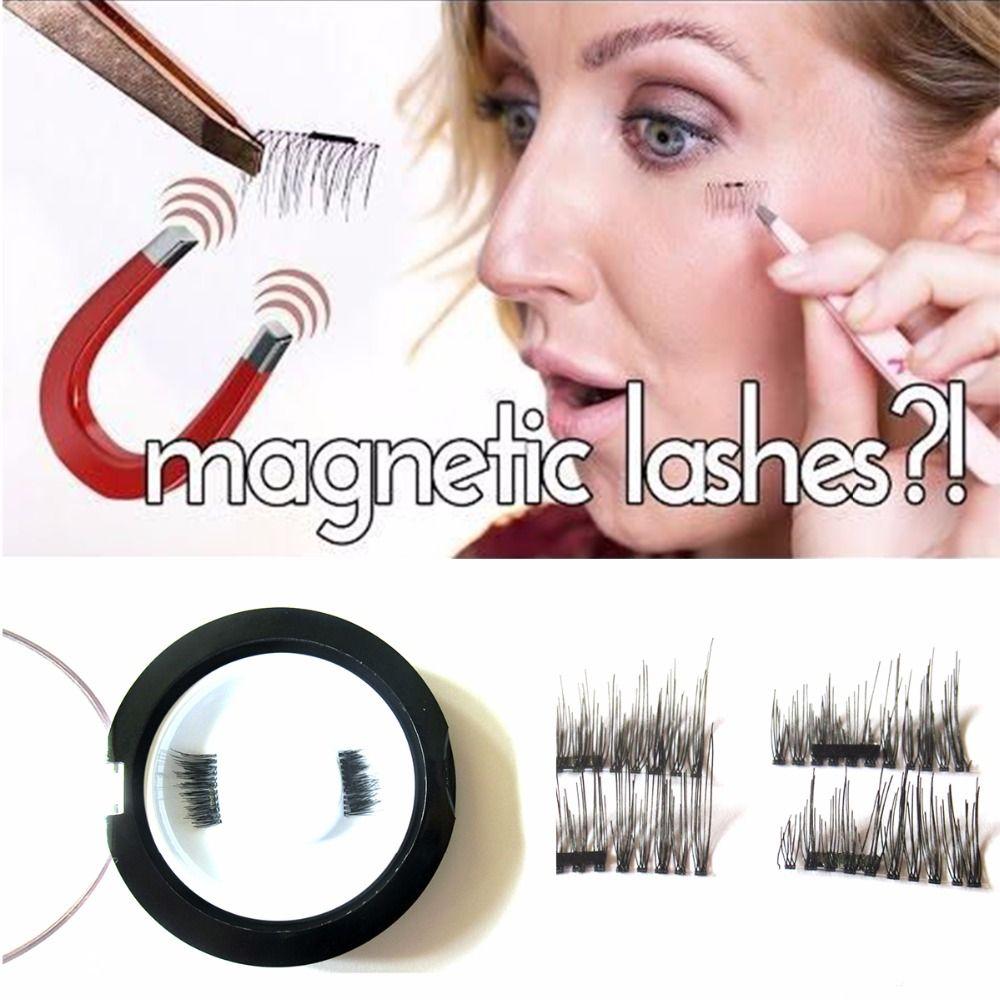 54546a4b420 Aliexpress.com : Buy Magnetic Eyelashes 4 Pieces/ Lot Permanent Magnetic  Magnet Eyelashes Small Magnet Fake Magnetic Eyelash Extension False Eyelash  from ...