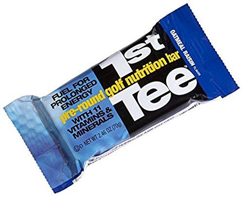 Scns Sports Foods 1st Tee Oatmeal Raisin Pre Round Golf Nutrition Bar 2 46 Ounce Bars Pack Of 12 Nutrition Bars Nutrition Proper Nutrition