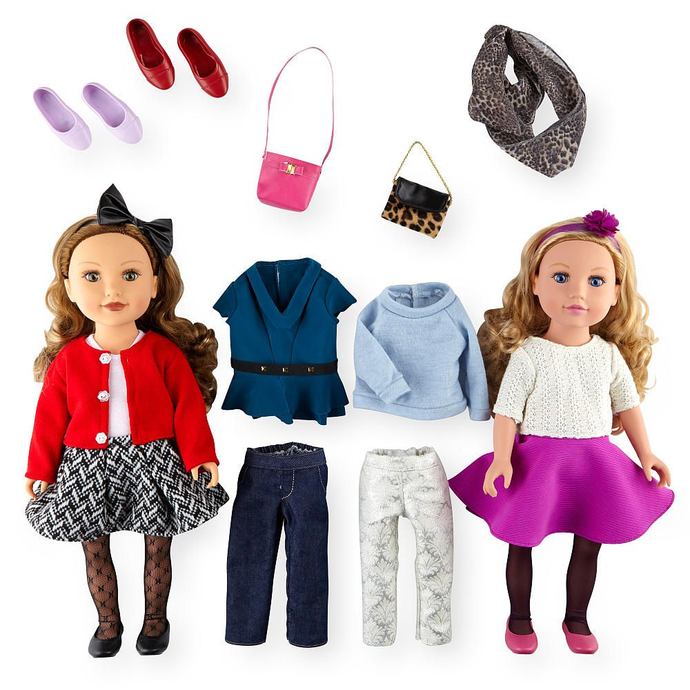Baby Dolls Vip The Journey Girls Vip Gift Set Is Perfect For Starting A New