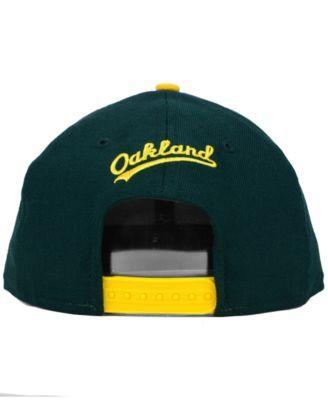 2371b0d737f3be New Era Oakland Athletics 2-Tone Link 9FIFTY Snapback Cap - Green Adjustable