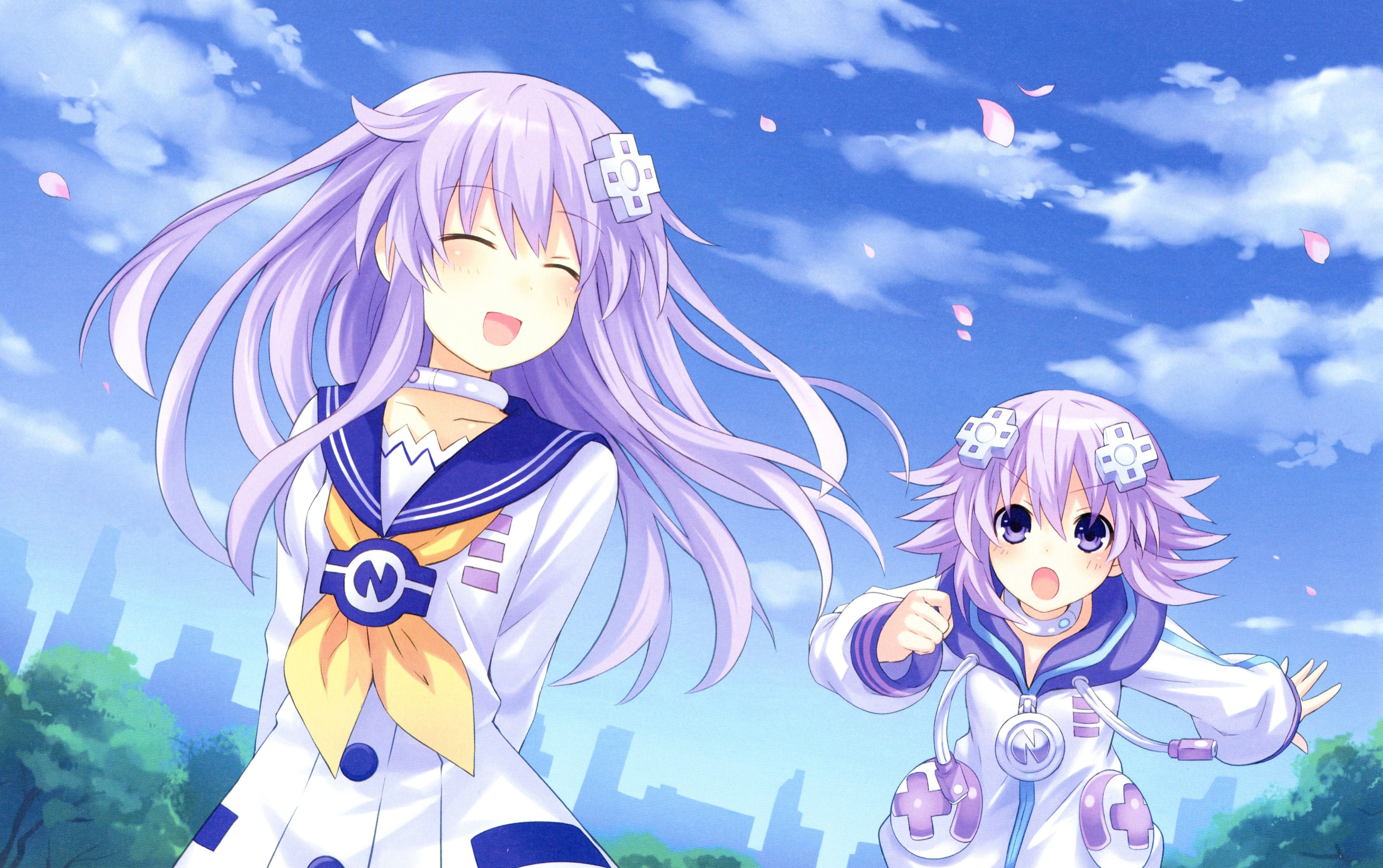 Nepgear x Neptune Anime, Anime art, Animation