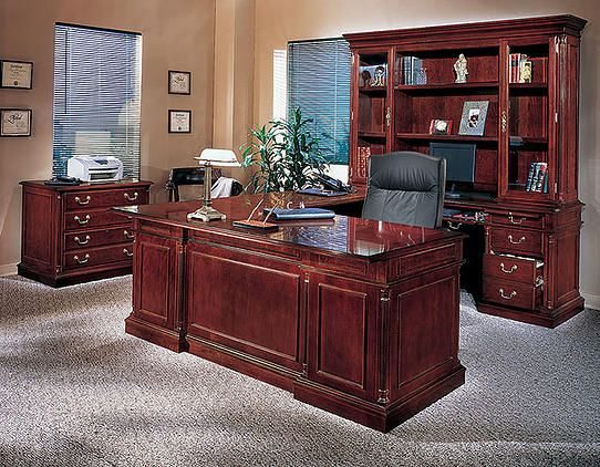 The Perfect Set For The Perfect Suite This Executive Wood