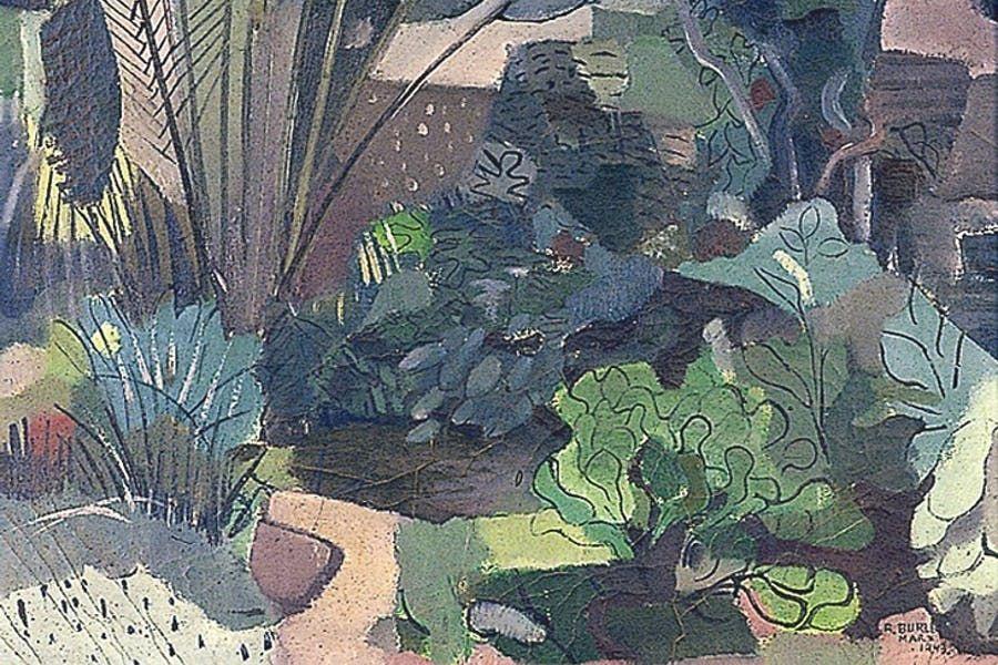 Landscape (1943), Roberto Burle Marx, Brighton and Hove ...