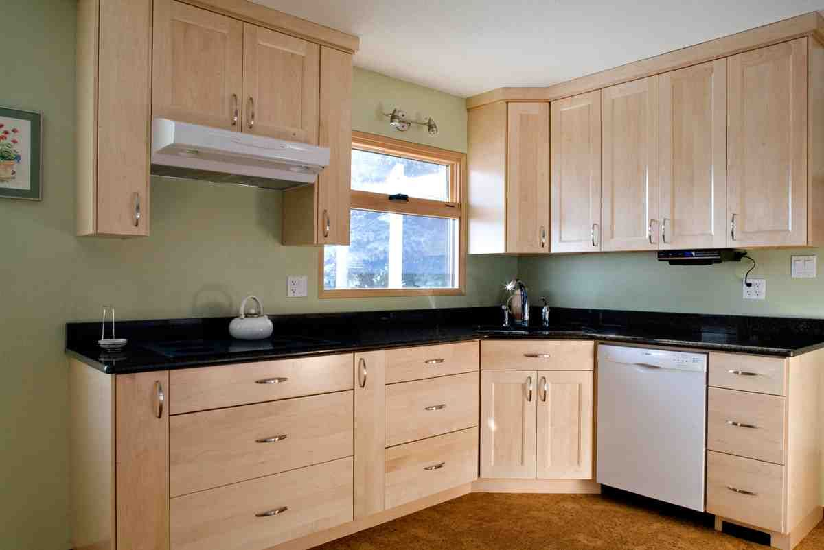 Natural Maple Kitchen Cabinets | Best maple cabinets | Pinterest
