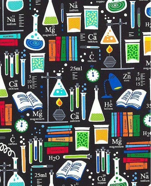 Tela FQ  chemistry class  de nosgustanlosretros por DaWanda - fresh tabla periodica de los elementos quimicos definicion
