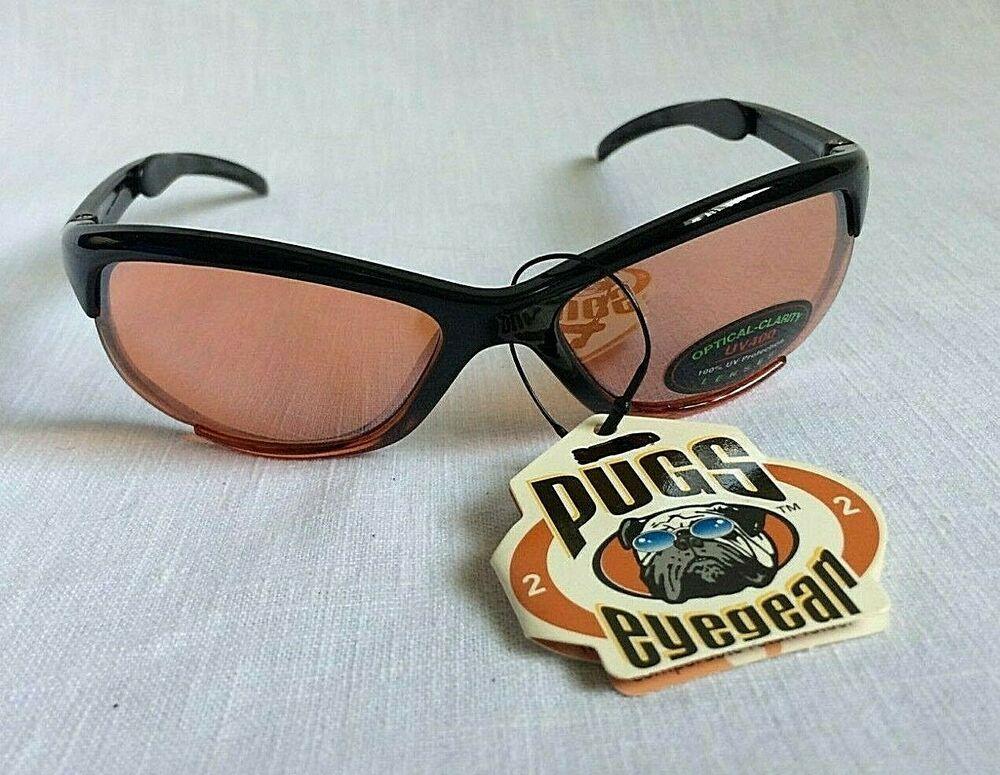 Pugs Eyewear Sunglasses Uv400 100 Uv Protection Lenses Black