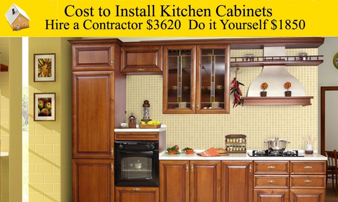 How Much Will It Cost To Install Kitchen Cabinets ...