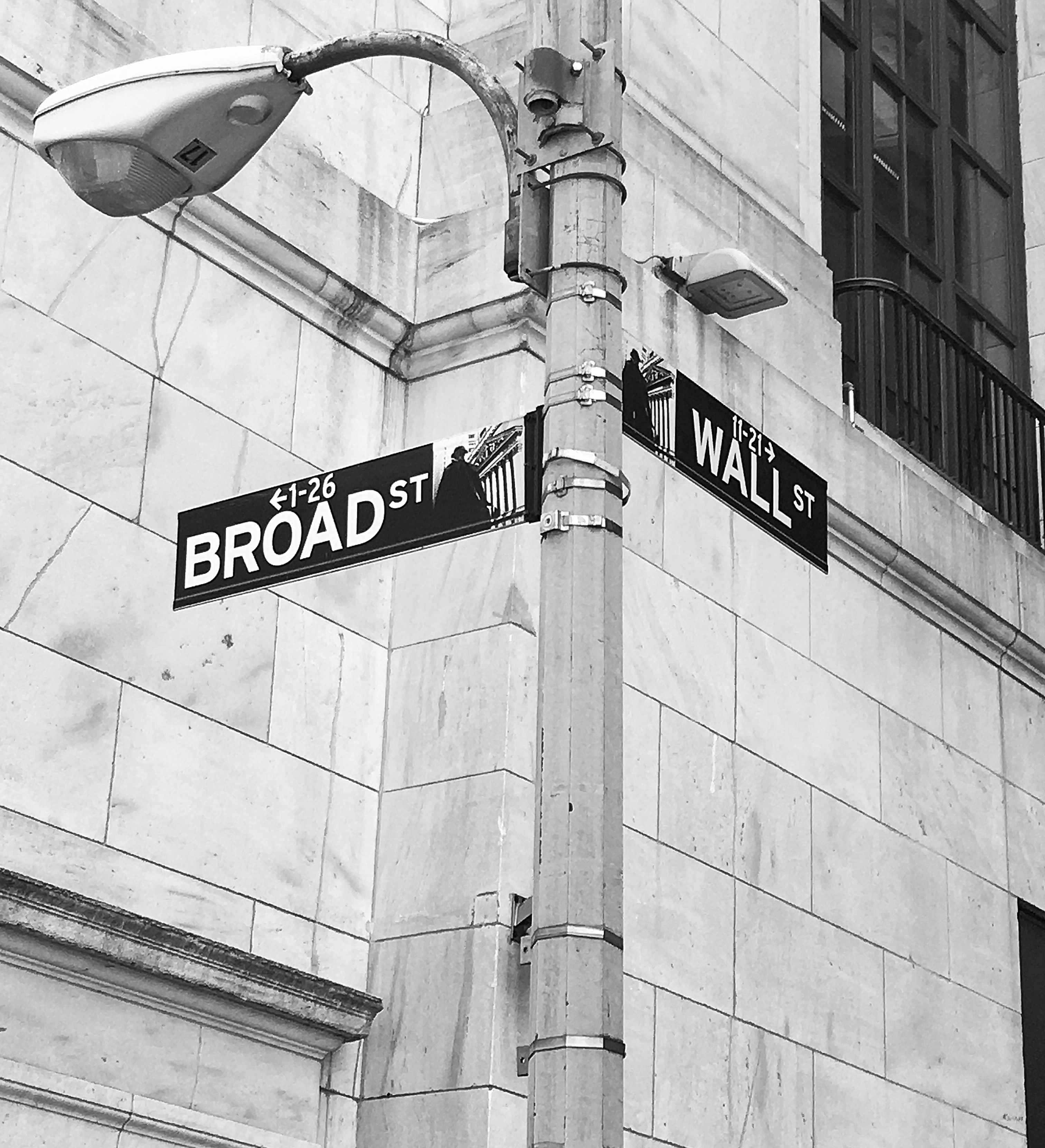 This was taken in the the Financial District.  I need to visit again.