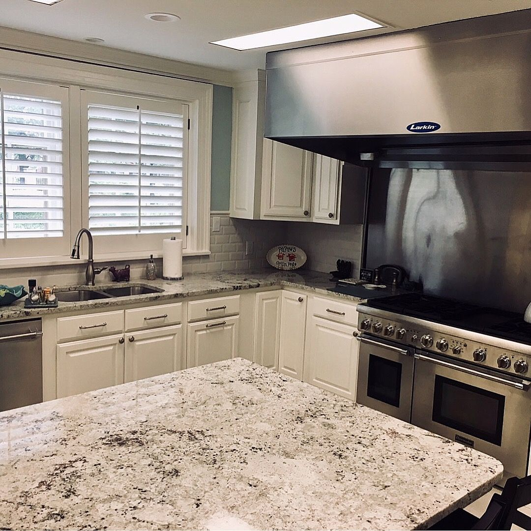 Pin By Pacific Shore Stones On Stone Natural Granite Kitchens Granite Kitchen Kitchen Applicances Natural Granite