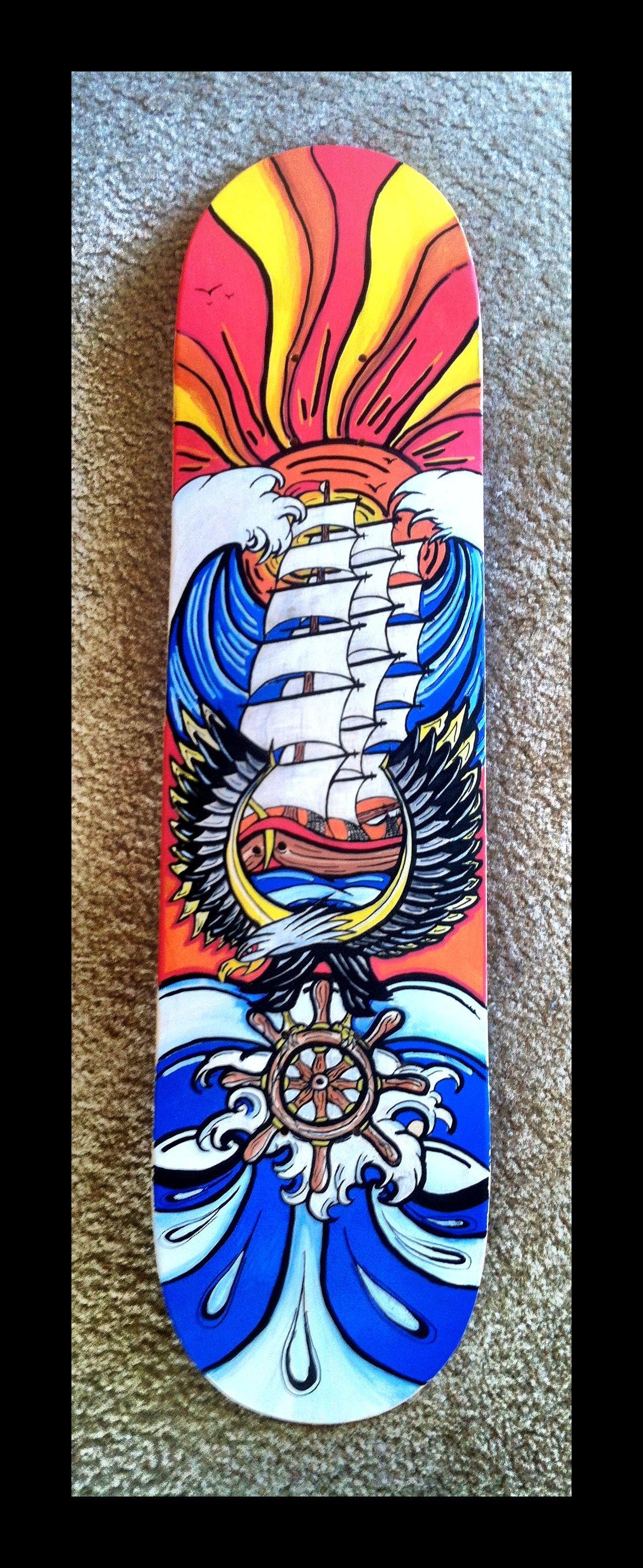 Design For Skateboard Deck Competition Tylerwilliamsartworkstorenvycom # Art #Illustration #