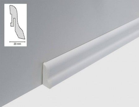 Sockelleiste Weiss 40 Mm 400 Tedox