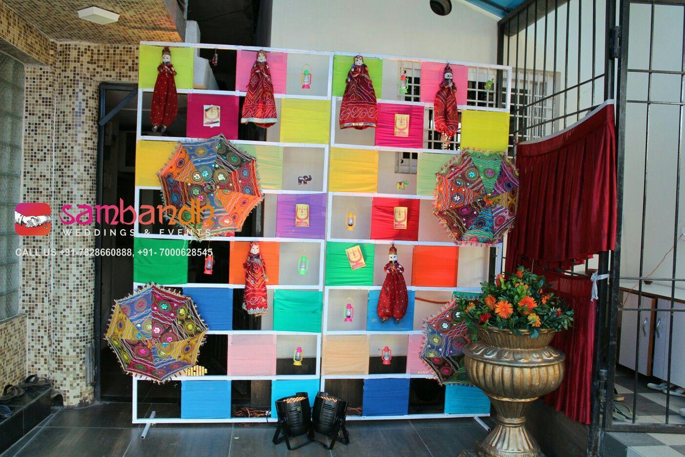 Rajasthani theme selfie station