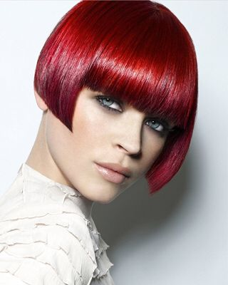 Short Red Hairstyles Ashley_James_Gamble_For_Royston_Blythe  My Hairstyles  Pinterest