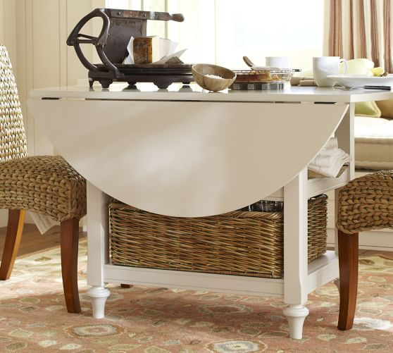 Shayne Drop Leaf Kitchen Table Antique White Small Kitchen