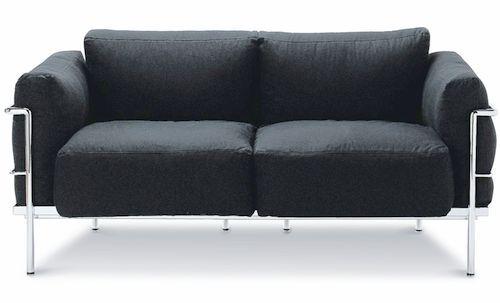 Le Corbusier 2Sitzer Sofa Grand Confort (1928)