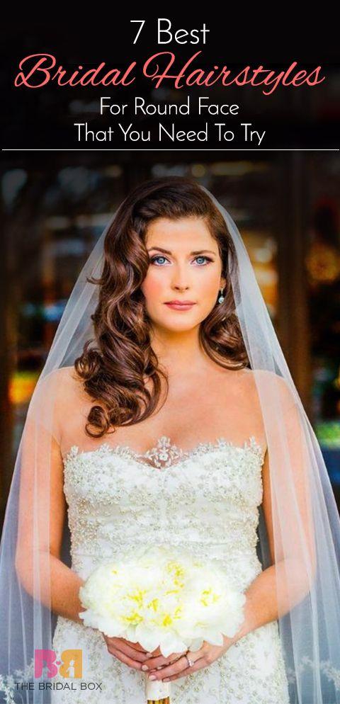 The Bridal Hairstyle For Round Face Beauties 7 Hairdos Hairdo Wedding Diy Wedding Hair Old Hollywood Hair