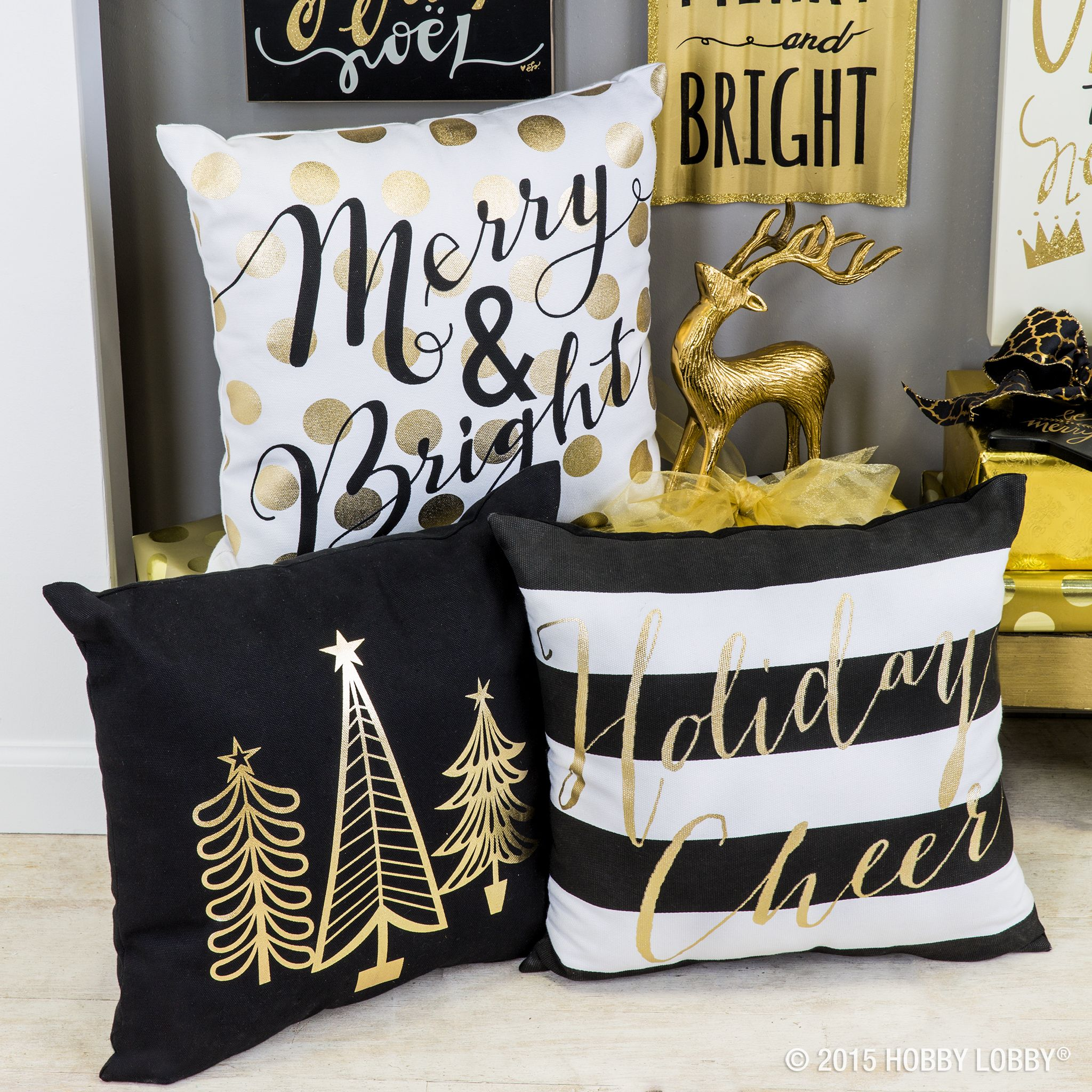 May Your Days Be Merry And Bright This Season With Pops Of Gold