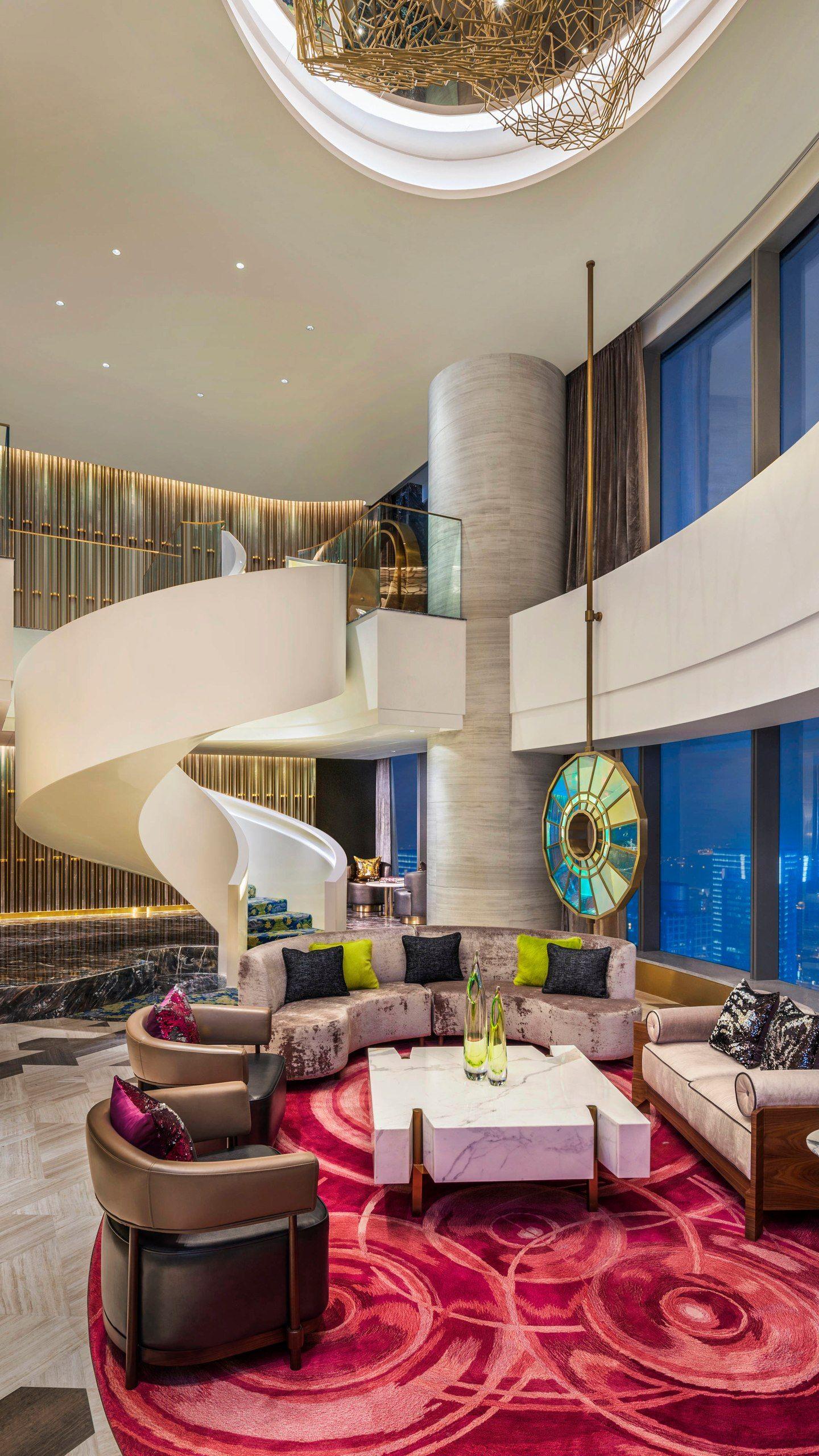Suite Extreme WOW Sala de estar Apartment master