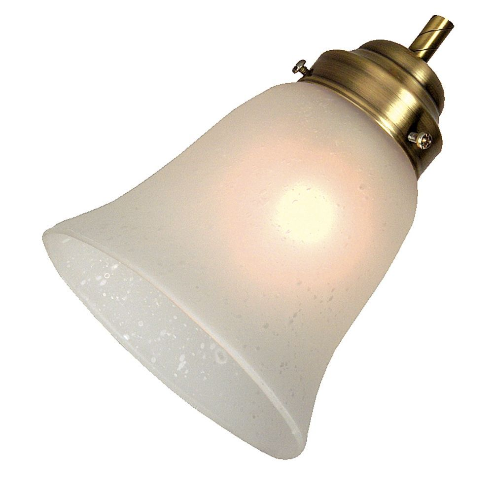 Craftmade International Inc Bell Shaped Seeded Glass Shade Cr 199 Glass Shades Glass Lamp Shade Replacement Glass Shades