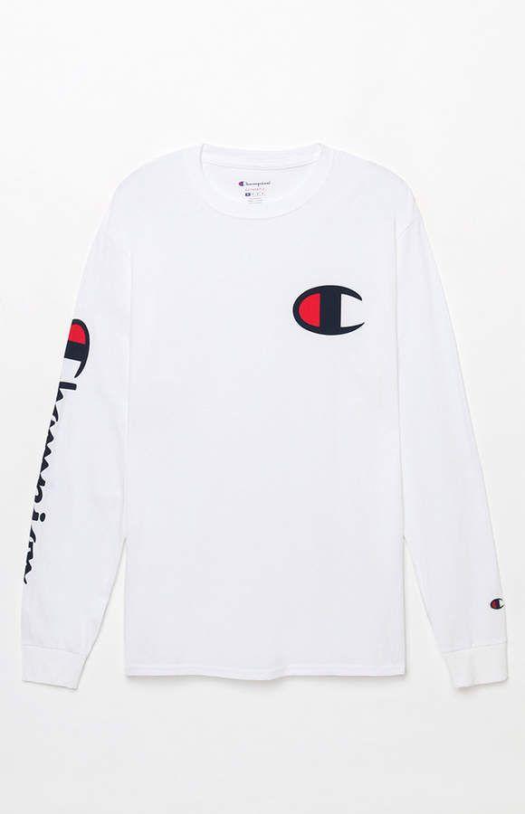 121ac08984 Champion Heritage Graphic Long Sleeve T-Shirt