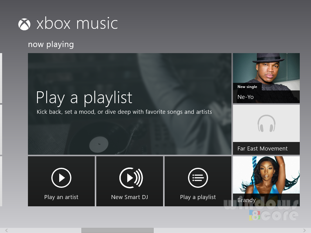 xbox music app of windows 8 gets free music streaming and smart dj hands on