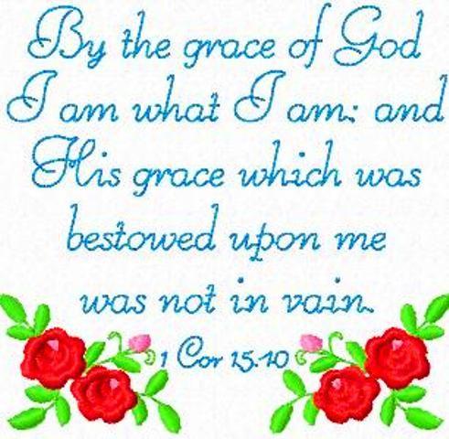 1 Cor 15 :10