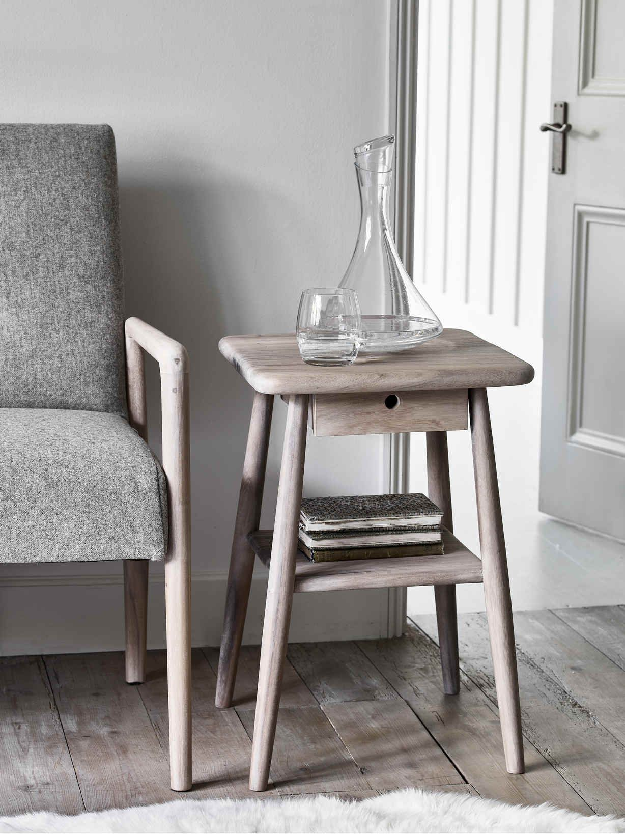 Sundby Side Table In 2020 Mid Century Side Table Side Table Nordic Furniture