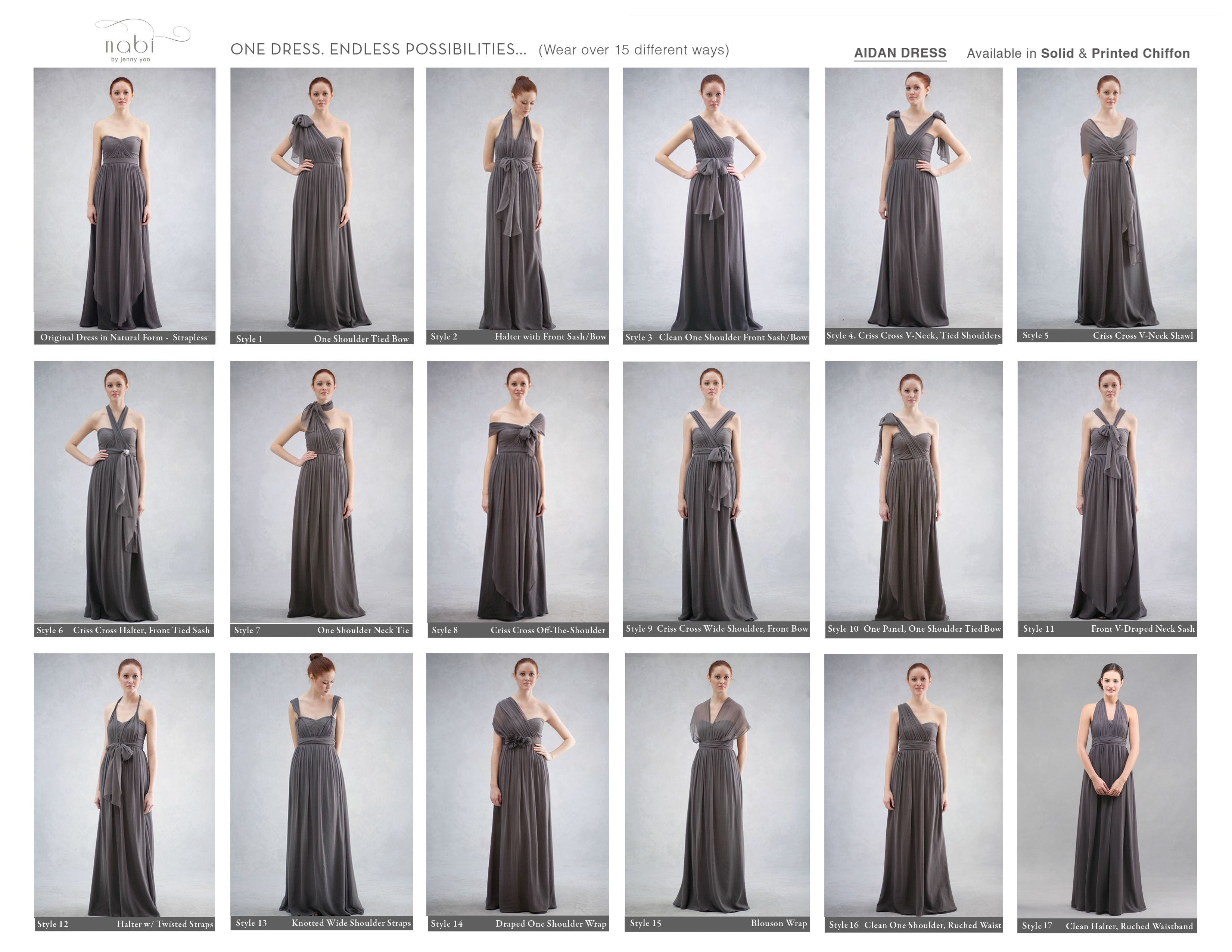 Bridesmaid dresses in different styles images braidsmaid dress convertible aidan dresses by jenny yoo httpjennyyoo convertible aidan dresses by jenny yoo httpjennyyoo ombrellifo images ombrellifo Gallery