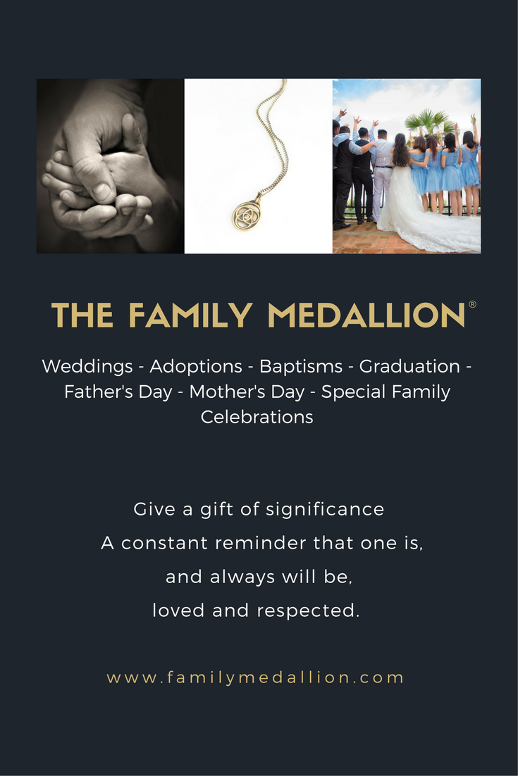 The Family Medallion Is A Symbol Of Family Unity Celebrate