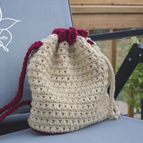Crochet Me Lovely Triangle Stitch Backpack Pattern By Manda Nicole