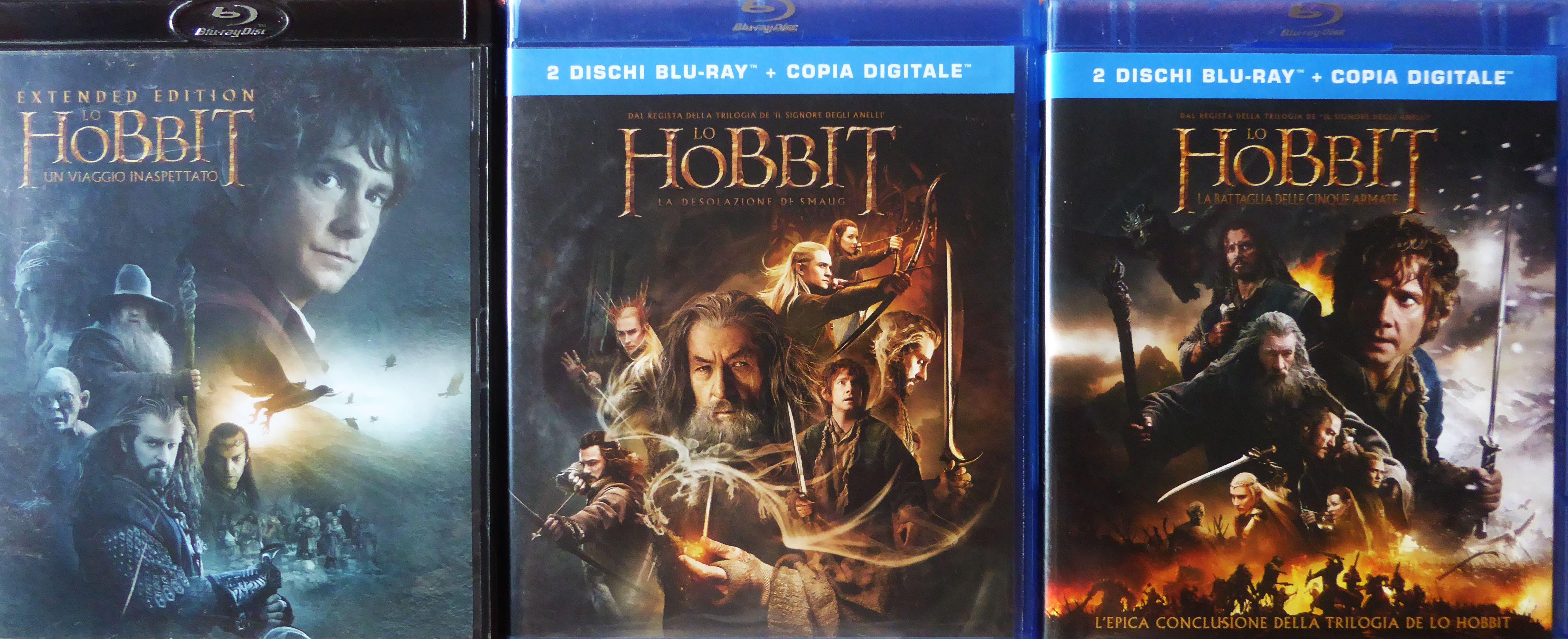 THE HOBBIT TRILOGY | Locandine di film, Film, Lo hobbit
