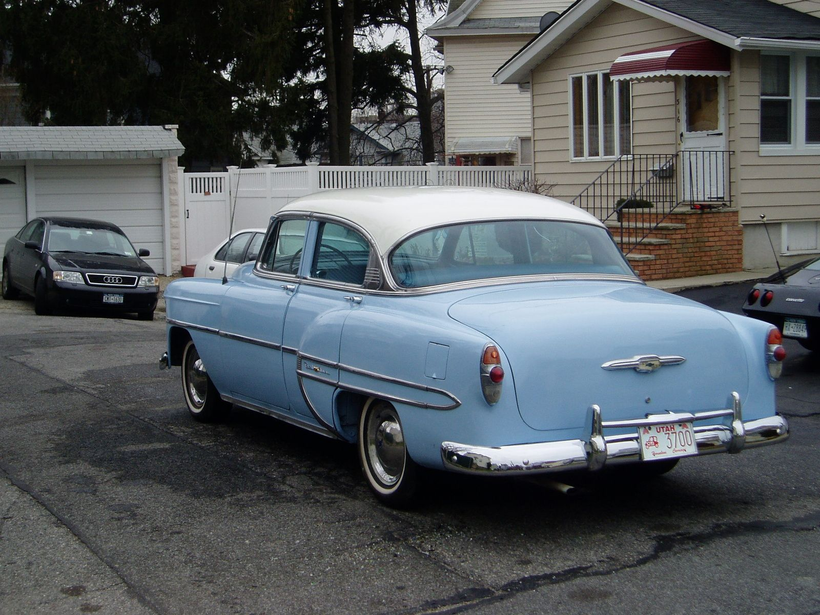 1953 Chevy Bel Air Similar To One My Step Father James Binyon Got For Me Chevy Bel Air Chevrolet Bel Air Bel Air