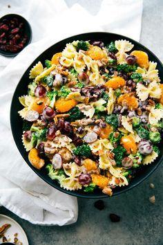 Broccoli + Grape Pasta Salad. Mmmm!