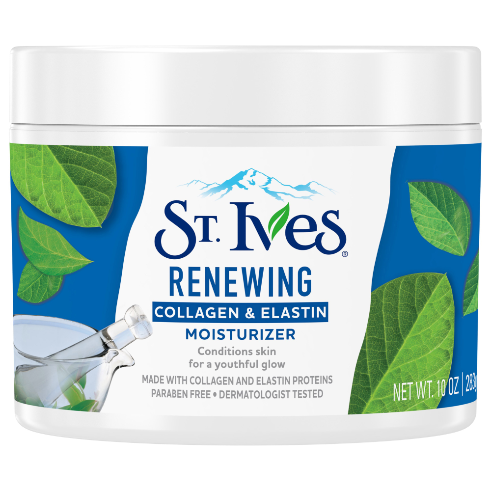 St Ives Collagen Elastin Paraben Free And Non Comedogenic Face Moisturizer For Dry Skin 10 Oz Walmart Com Collagen Face Cream Collagen Cream Facial Moisturizers
