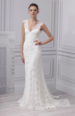 Monique Lhuillier Royalty Wedding Dress Used Size 8 2 600