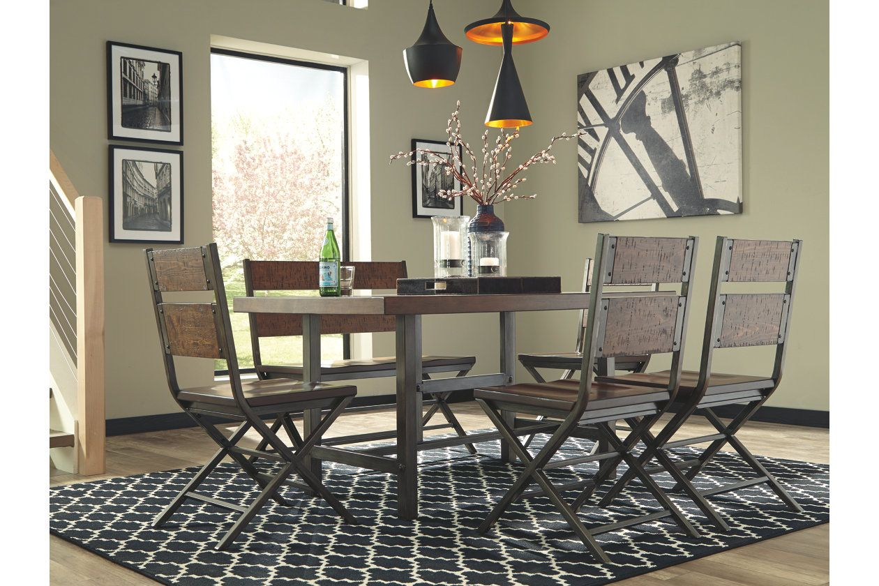 Kavara Dining Room Table Ashley Furniture Homestore Dining