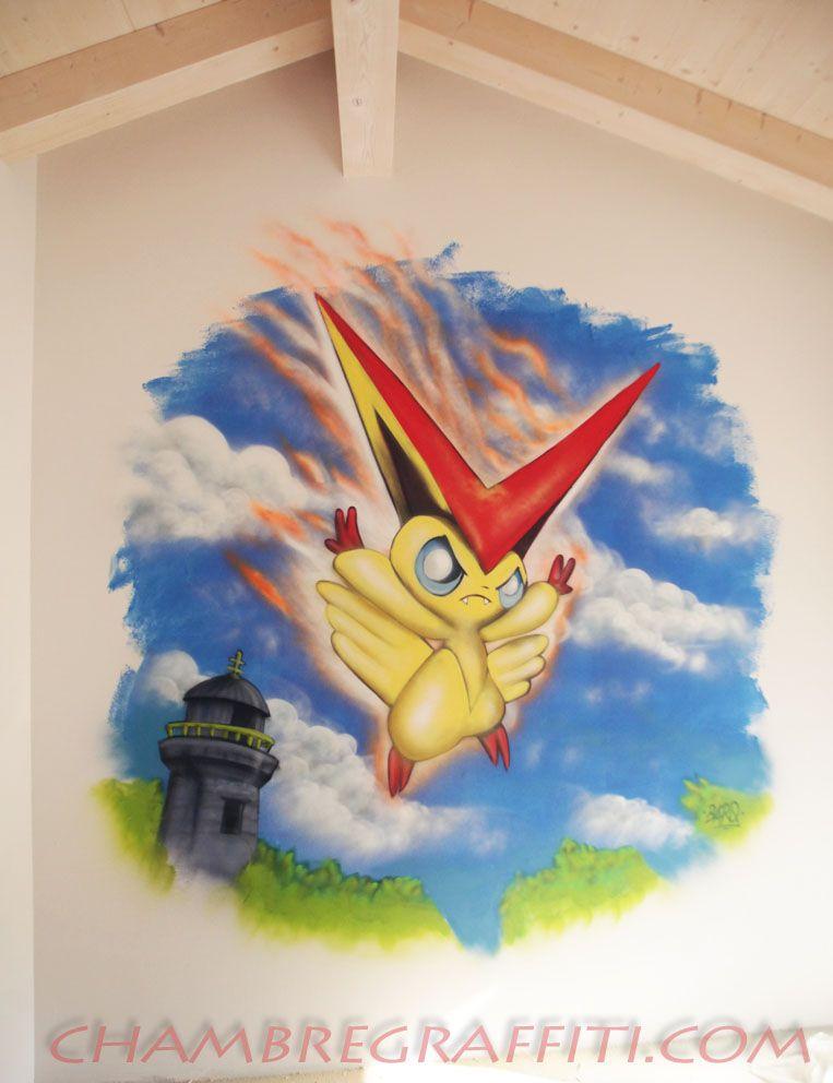 Pokemon Chambre Enfant Chambre Noah Pinterest - Eiffel chambre de la tour des idees de decoration
