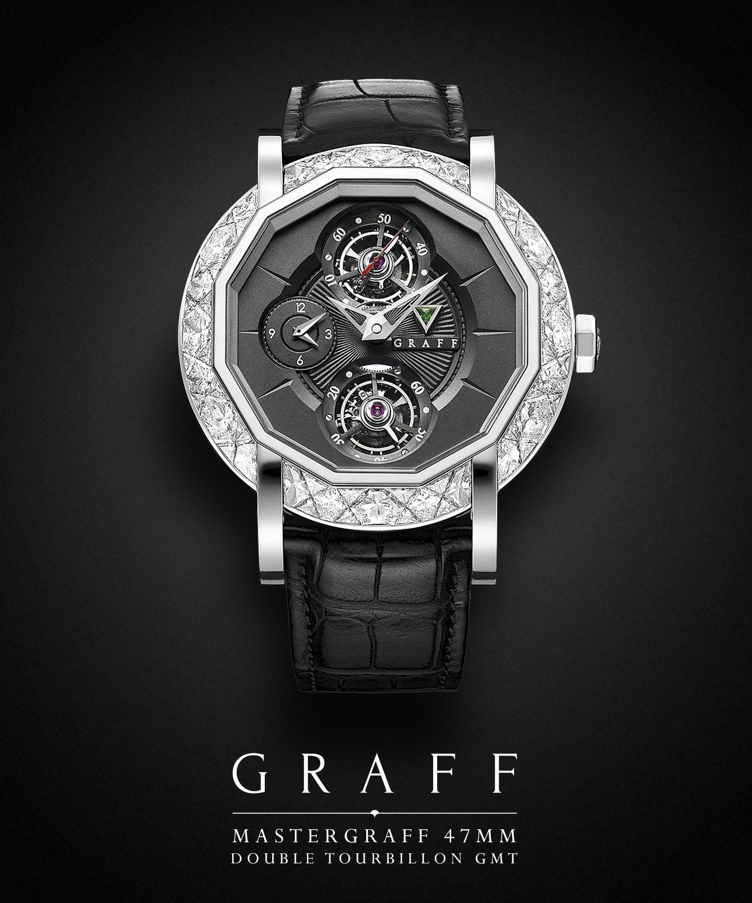 graff diamonds mastergraff tourbillon gmt 47mm