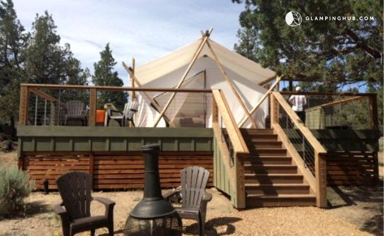 Luxurious Tents at Tranquil Spa & Glamping Resort near ...