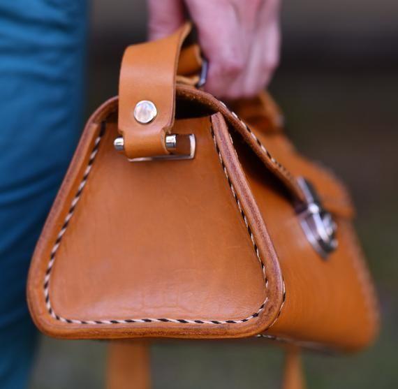 Bolso de mujer, bolso de cuero de mujer, bolso de cuero hecho a mano, bolso de hombro, bolso de mujer de cuero